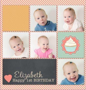 Elizabeth's 1st Birthday