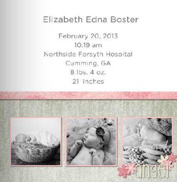 Elizabeth's Baby Book